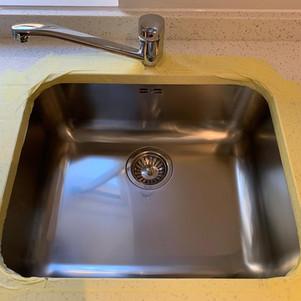 Sink restoration-After