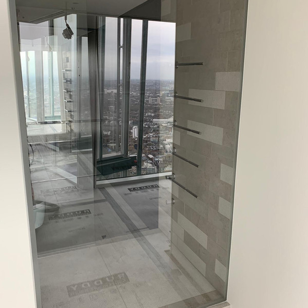 Shower screen-After