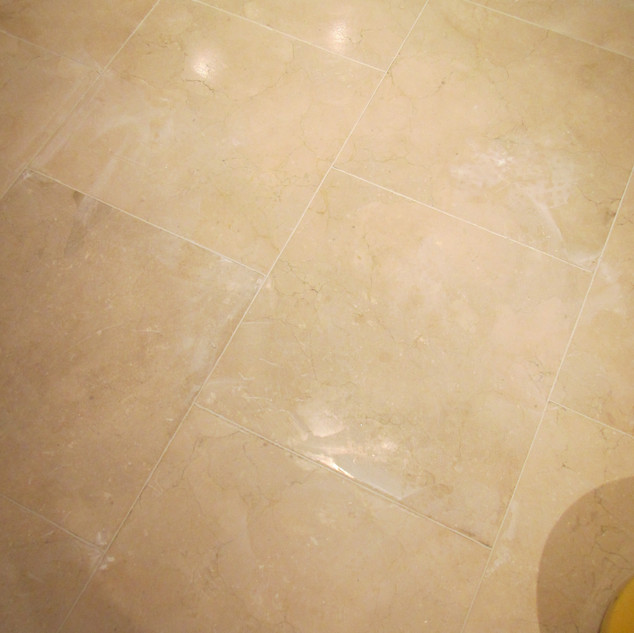 Stone floor-After