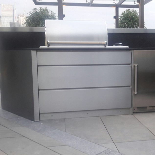 Outdoor kitchen-After