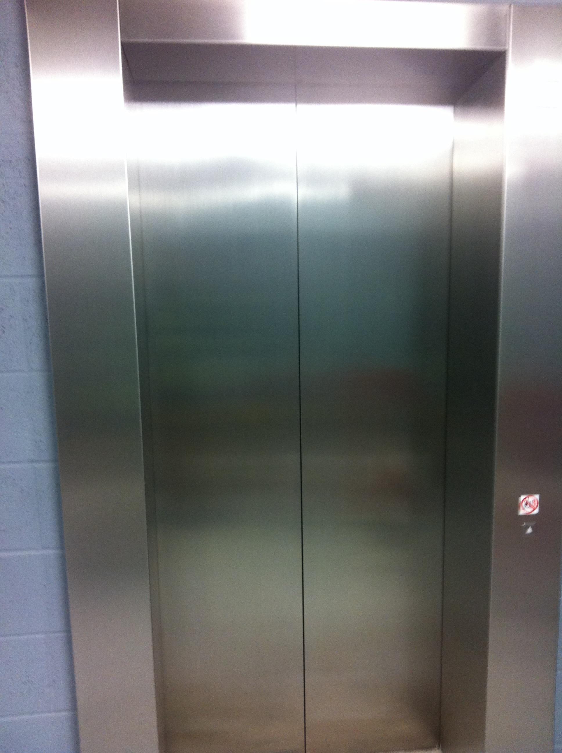 Damaged Lift Doors- After