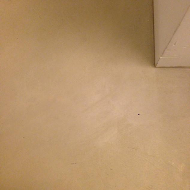 Damaged stone floor-After