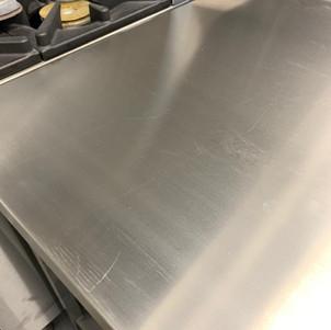 Kitchen refurbishment-During