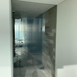 Shower screen-Before