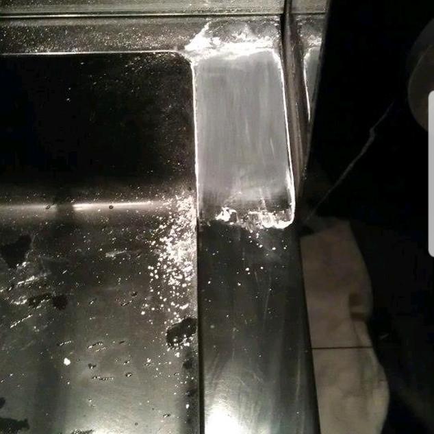 Corian sink -During