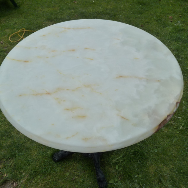 Stone table top-After