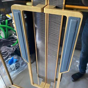 Brass handles-Before