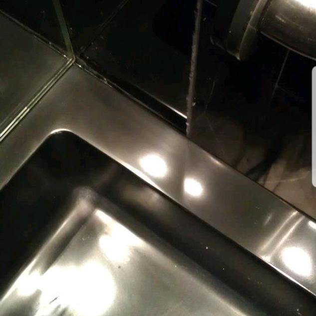 Corian sink-After
