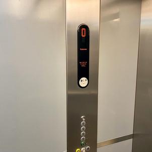 Internal lift car control panel-After