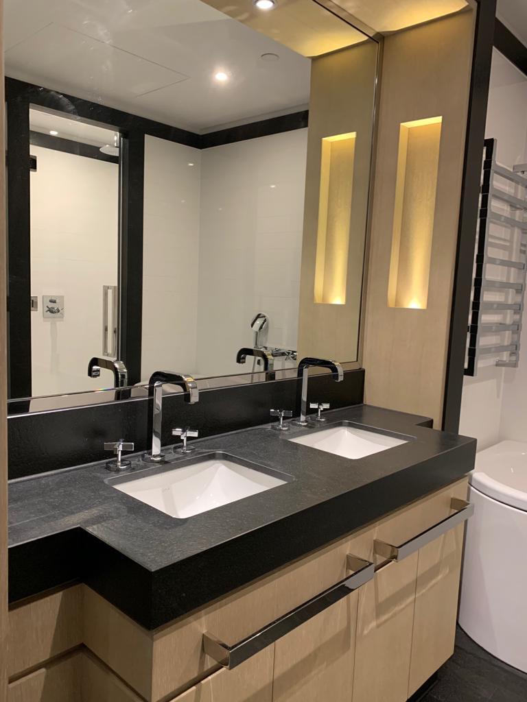 mirror trim polishing