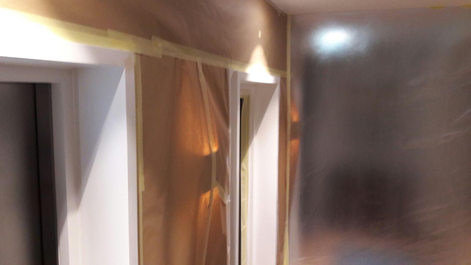 Lift architrave respray