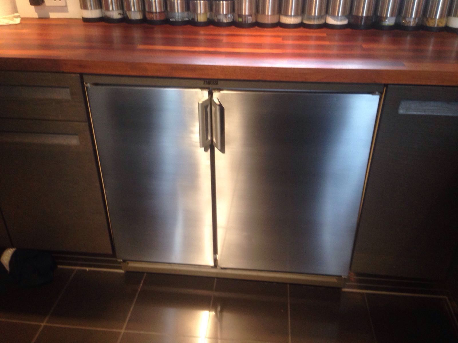 Stainless Steel Fridge - After