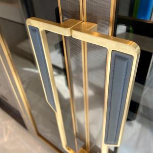 Brass handles-After