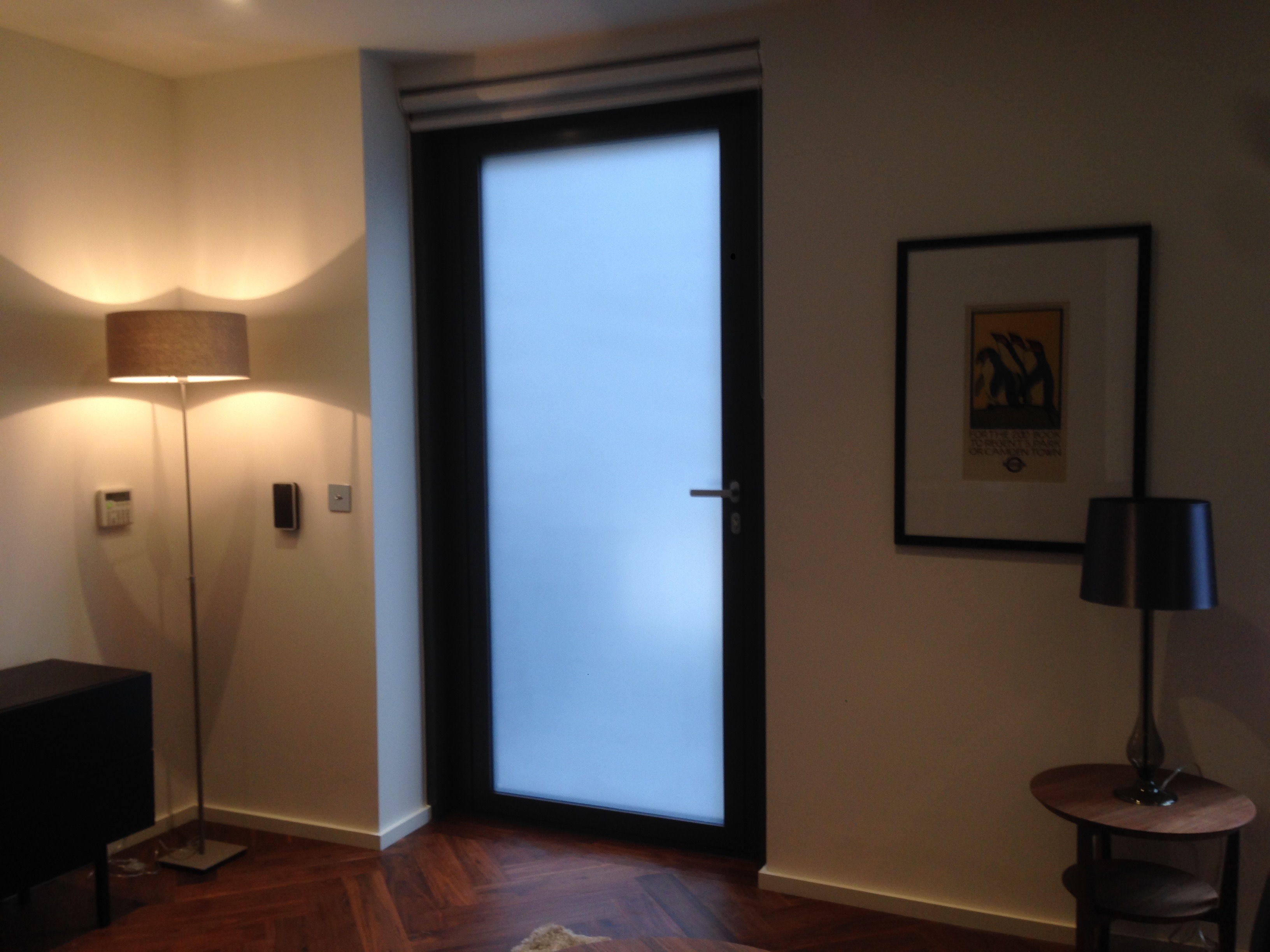 Privacy Film Installation - After