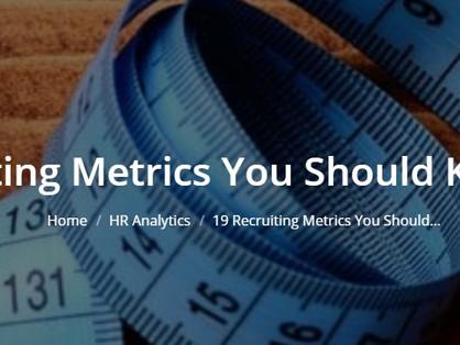 Recruiting Beyond 2020: The MATRIX of Metrics