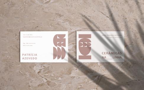 Ceramicas Na Linha Card