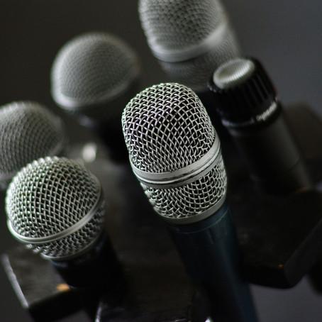 Recording 101: Microphones