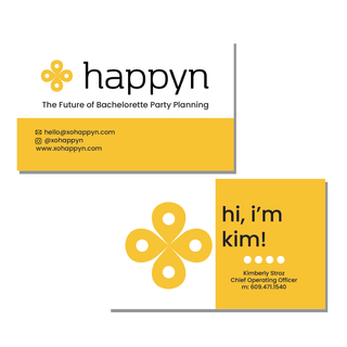 Happyn Business Cards