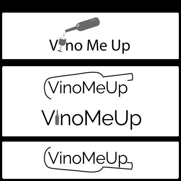 VinoMeUp Logo Creation Process
