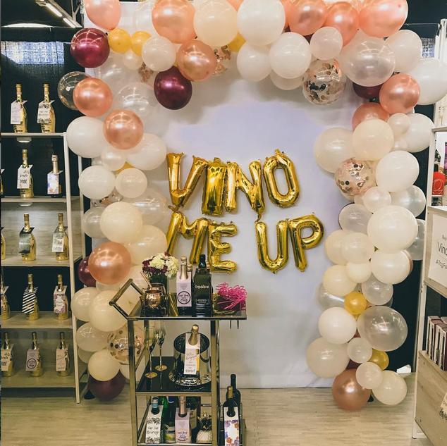 VinoMeUp Tradeshow Booth Design