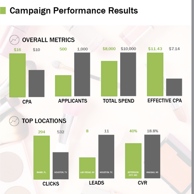Campaign Performance Infographic