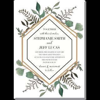 Succulent/Terrarium Invitation