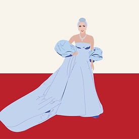 Lady Gaga Portrait Illustration Pop Culture