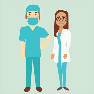 Healthacare Illustration for Social Assets