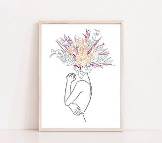 Boho Flower Heads_3 of 3_framed.png