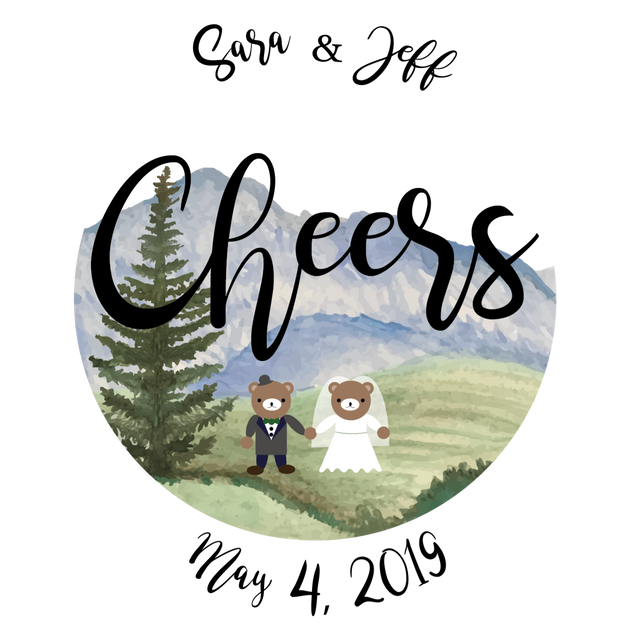Cheers Logo for Stickers & Napkins