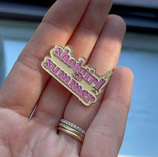 """Shot Girl Summer"" Enamel Pin"