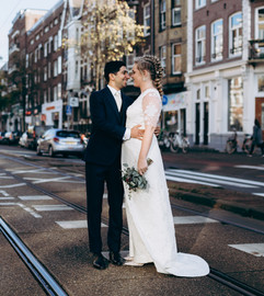 Bruids jumpsuit laten maken