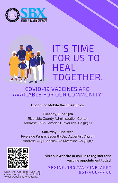 Covid Response - Vaccine Flyer with Site