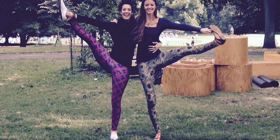Yoga zu Zweit in Heidelberg