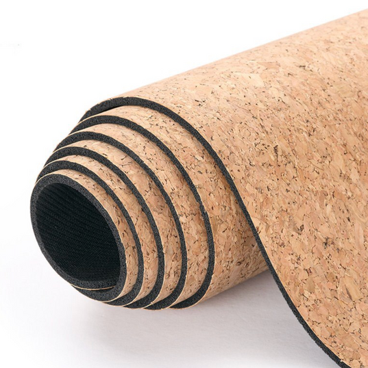 Organic Premium Grade Cork Yoga Mat
