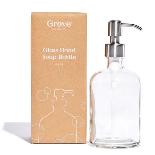 Glass Hand Soap Dispenser