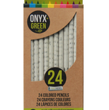 Recycled Newspaper Colored Pencils