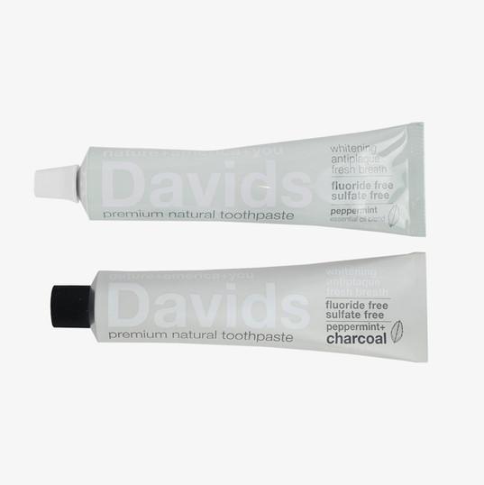 David's Premium Natural Toothpaste
