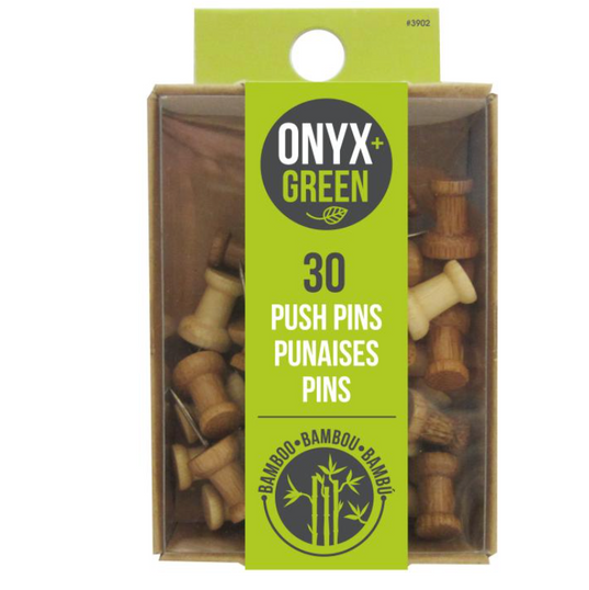 Bamboo Push Up Pins