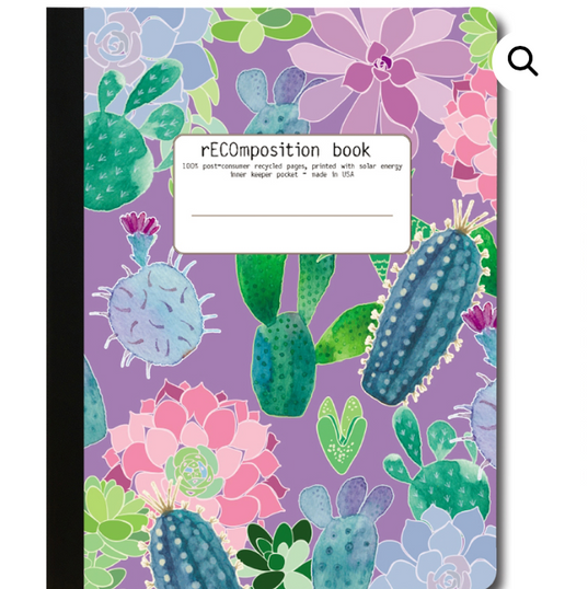 Recycled ECO Composition Notebook