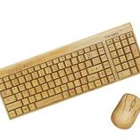 Potable Bamboo Key Board