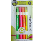 Recycled Plastic Gel Highlighters