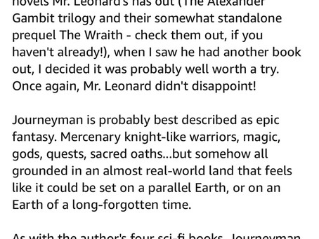 Another Rave Review for Journeyman