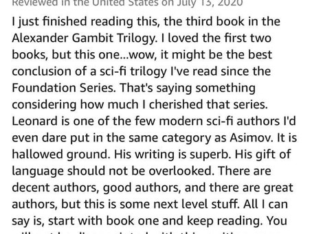 Another Mind-blowing Review!