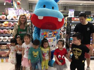 Fun with Kids at HeMa Supermarket
