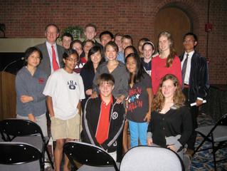 Peggy Liu Visits the Hotchkiss School