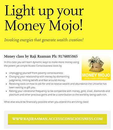 Light up your Money Mojo!