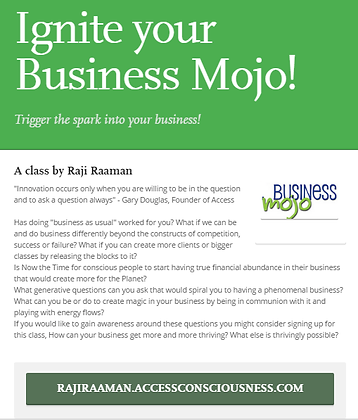 Ignite your Business Mojo!