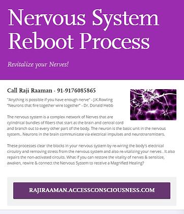 Nervous System Reboot Processes!