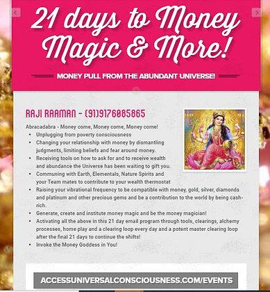 21 days to Money magic & more!
